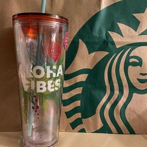 Starbucks Aloha Vibes Hawaii Exclusive Tumbler